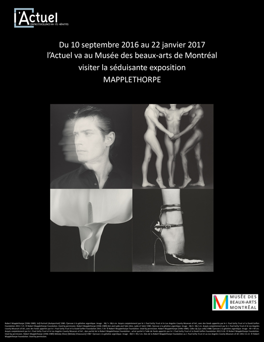 Exposition Mapplethorpe Montréal